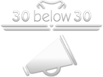 30 Below 30 Advertising & Marketing Logo