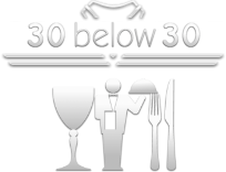 30 Below 30 Food & Beverage Logo